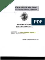San Isidro Ordenanza Fiscal 2015