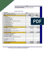 Balance Estado de Resultados y Líneas de Crédito 2010-2011 (1)