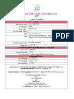 Formulir Pendaftaran BSS GP YOGA
