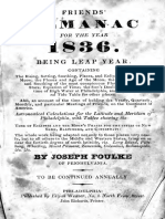 Friends Almanac for the Year 1836