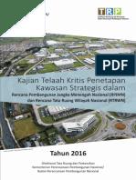 Kajian Telaah Kritis Penetapan Kawasan Strategis Dalam RPJMN Dan RTRWN