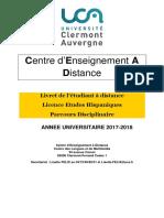 LIVRET Licence Espagnol 2017-2018 v1907