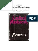 MEMORIE Cardinale Mindszenty