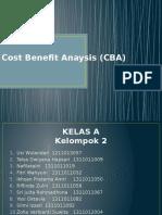 Cost Benefit Anaysis Fix Kelp 2 Kelas A