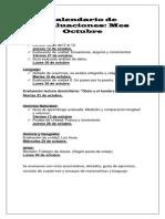 Calendario de Evaluaciones octubre.docx