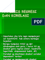 Regresi Dan Korelasi