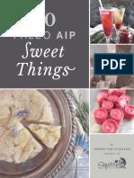 20 Paleo AIP Sweet Things by Sophie Van Tiggelen