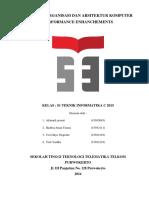 Tugas Makalah Organisasi Dan Arsitektur Komputer Performance Enhanchements