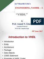 VHDL IN DELD