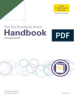 Bsb Handbook 31 March 2017