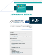 Information Bulletin 26.10.17
