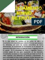 Exposicion de Frutas