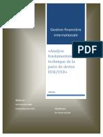 Analyse Fondamentale Et Technique d'Une Paire de Devise
