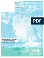 Miami River Tunnel Feasibility Study Final Report 2017 08