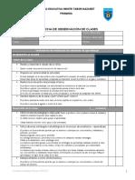 Ficha de Observaci n de Clases Explicativo. 20121