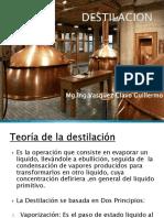 La Destilacion 4ra Clase