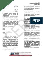 Legislação Previdenciária - Material Complementar - Questões 01