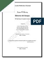 Historia Del Tiempo.