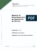 MANUAL DE PROCEDIMIENTOS INGENIERIA ELÉCTRICA  PEMEX.pdf