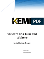 Installation Guide-VMWare ESX ESXi and VSphere