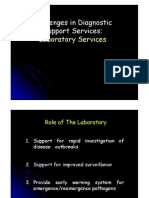 Challenges in Laboratory Services April 2006
