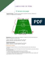 Reglamentaciones de Futbol
