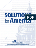 Solutions For America by The Heritage Foundation 2010