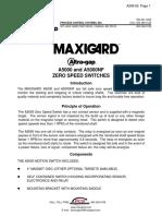 A5000_install ZERO SPEED SWITCH, MAXIGARD.pdf