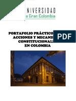 Mecanismos de Derechos Individuales y Colectivos 2