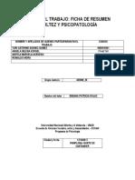 Ficha de Resumen de Adultez y Psicopatologia