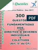 1726_dos Direitos e Deveres Individuais e Coletivos-Art.5º Da Cf-Apostila Amostra