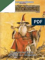 Forgotten Realms AD&D - Shadowdale - O Vale Das Sombras - Biblioteca Élfica
