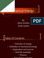 Mechanical Energy (2)