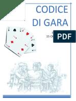 Codice Di Gara