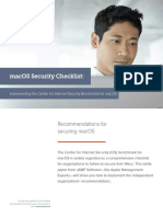 macOS Security Checklist