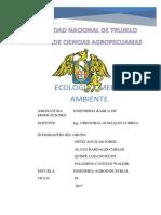 Ecologia y Medio Ambiente Informe