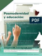 Posmodernidad y Educacion Imperativos Categoricos