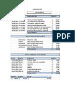 Presupuesto y Financiamiento