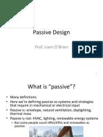 Green Building Design - Passive Strategies