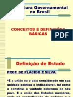 1. Estrutura Governamental No Brasil