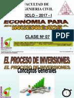 Clase 07 Economia Para Ing 2017 i