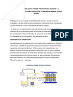 Implementación de Filtro de Prensa  de Los Concentrados de La Empresa Minera