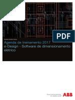 Treinamento_ E-Design_software de Dimensionamento Eletrico ABB 2017