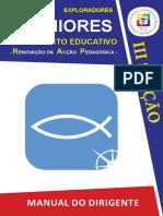 DIRIGENTES - III SECÇÃO - SÉNIORES  -Manual de Apoio à formação - Escuteiros - v.1.1