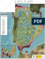 Densidad de Potencia Eólica España