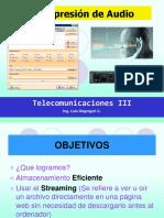 Curso Telecom III - 2016-2 Compresion-De-Audio