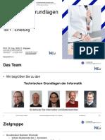 01 Technische Grundlagend Der Informatik Einleitung