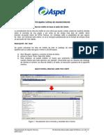 Principales Rutinas de Mantenimiento Aspel SAE 7.0