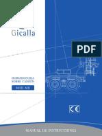 Manual Gicalla Hormigonera Version Mh Con Despiece
