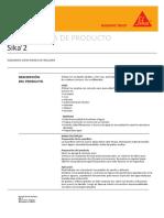 Ficha técnica Sika 2